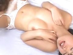 Hottest Japanese chick Erika Sato in Incredible Stockings/Pansuto JAV scene