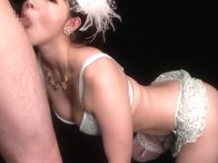 Fabulous Japanese girl Ai Uehara in Horny Blowjob/Fera, Stockings/Pansuto JAV video