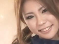 Horny Japanese chick Reona Kanzaki, Rina Takakura, Yumi Kazama in Amazing JAV movie