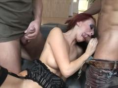 Exotic pornstar Claudia Valentine in hottest facial, creampie xxx clip