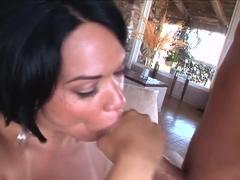 Incredible pornstar Rosario Stone in hottest facial, brazilian porn video