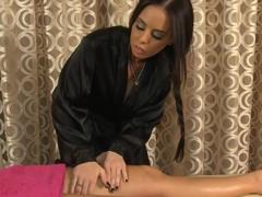 Incredible pornstars Brandy Aniston, Jessa Rhodes in Fabulous Massage, HD sex scene