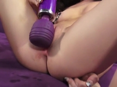 Best pornstars Courtney Star and Ash Hollywood in exotic dildos/toys, anal sex scene