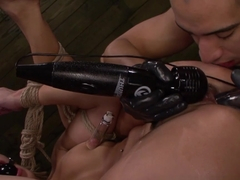 Hottest pornstar Marina Angel in Incredible Fingering, BDSM porn scene