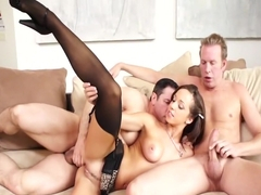 Crazy pornstar Jada Stevens in hottest cunnilingus, anal adult movie