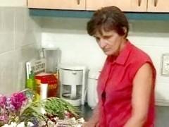 German Granny in the Kitchen R20