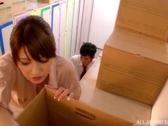 Mei Asou sensual Asian teacher enjoys a quickie