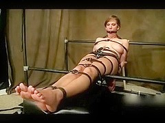 Alora Jaymes slutty feet tickled by her owner