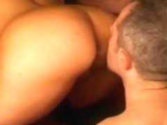 Italian sex with spandex movie with hard anal drilling