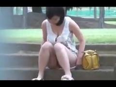 Outdoor masturbation 2