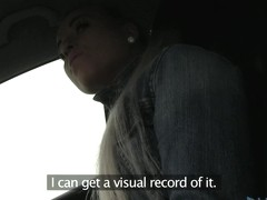 Such a lovely babe sat in my car in the interview video