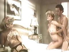 Exotic anal vintage movie with J. Massey and Hershel Savage
