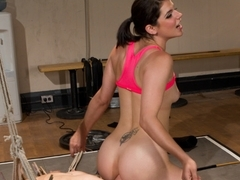 Best lesbian, fetish porn clip with amazing pornstars Bobbi Starr and Bella Wilde from Whippedass