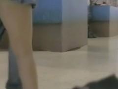 Incredibly thrilling upskirt voyeur footage