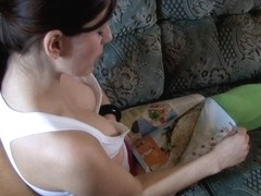 The best free down blouse video of some great tits