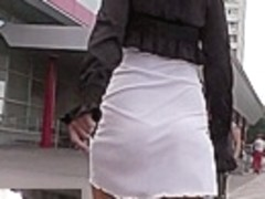 String panty upskirt movie scene
