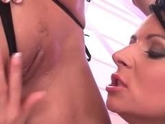 Exotic pornstar Nikki Sun in amazing lingerie, dildos/toys xxx scene