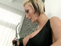 Hardcore lesbian scene with a nasty bitch Pearl Diamond and Shanis