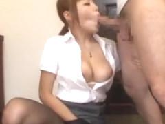 Incredible Japanese chick Mao Hamasaki in Crazy JAV movie