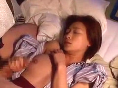 Crazy Japanese chick Kaho Kasumi in Exotic Fingering, Cunnilingus JAV video