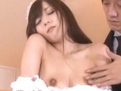 Exotic Japanese whore in Amazing Fetish JAV movie