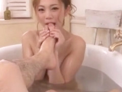 Incredible Japanese whore Asami Ogawa in Horny Foot Fetish, POV JAV clip