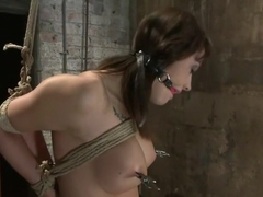 Girl next door is overwhelmed from the orgasms we rip from her helpless bodyBrutal rope Bondage!
