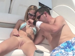 Fabulous pornstar Scarlett Summers in incredible college, blonde porn scene