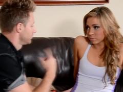 Best pornstar Katerina Kay in exotic cumshots, blonde porn movie