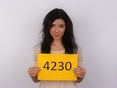 CZECH CASTING - Cute legal age teenager ESTER (4230)