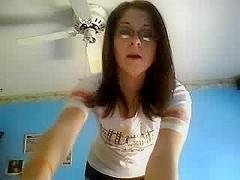 A striptease video of my girlfriend