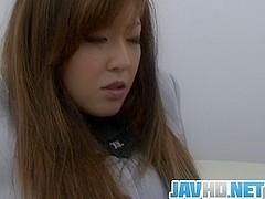 Asian oral stimulation for cock sucking Aya Sakaki