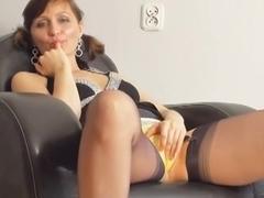 Sexy MILF posing provocatively