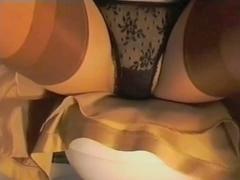 Gold Satin Petticoat