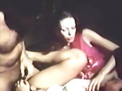 Amazing lesbian retro movie with Abigail Clayton and Al Nulli