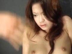 Kaoru Mugi is fucked with vibrator and cock under pink