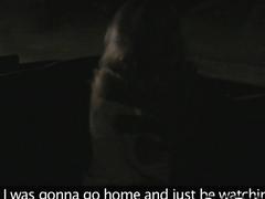 Cab driver bangs busty blonde at night