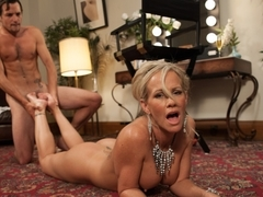 Amazing fetish, blonde porn video with horny pornstars Tyler Nixon and Simone Sonay from Footworsh.