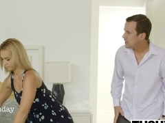 TUSHY Babysitter Kelsi Monroe Gets Anal at Work