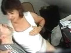 Hidden cam catches my mom having fun with boy friend