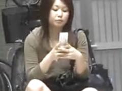 Asian Girls vs Bending Over
