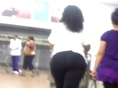 Juicy Black Ass Walking Lookin So Sweet..
