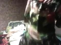 Fabulous twerking livecam constricted garments clip