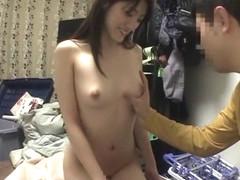 Crazy Japanese slut Kanako Iioka in Hottest blowjob, college JAV clip