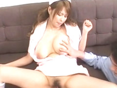 Best Japanese slut Nana Mochizuki in Crazy Big Tits, Nurse/Naasu JAV video