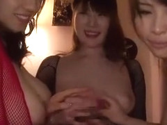 Exotic Japanese slut Momoka Nishina, Kyouko Maki, Azusa Nagasawa in Incredible POV, Big Tits JAV v.
