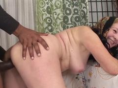 Best pornstar in fabulous interracial, facial porn scene