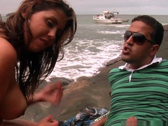 Amazing pornstars Tony Tigrao, Izadora Fantini in Exotic Anal, Brazilian porn video