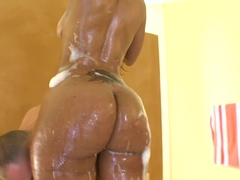 Fabulous pornstar Miyamme Spice in Horny Black and Ebony, Big Ass porn clip