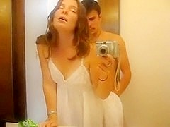 Hawt As Hell Wife in Washroom...